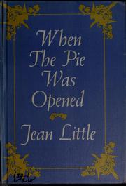Cover of: When the pie was opened