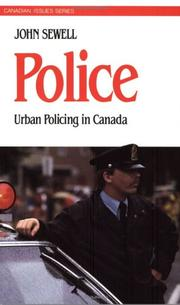 Cover of: Police | John Sewell