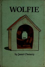 Cover of: Wolfie | Janet Chenery