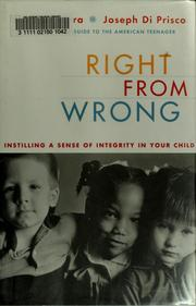 Cover of: Right from wrong
