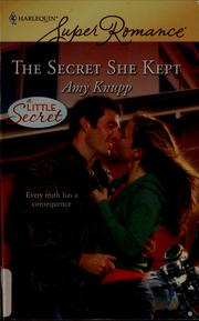 Cover of: The secret she kept