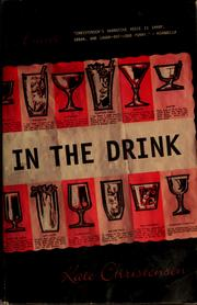 Cover of: In the drink