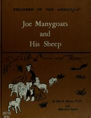 Cover of: Joe Manygoats and his sheep