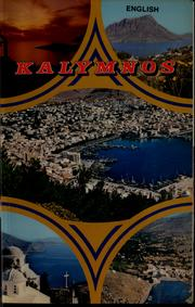 Cover of: Kalymnos, the isle of sponge-fishers | Dimitris G. Davaris