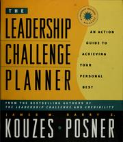 Cover of: The leadership challenge planner