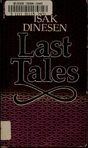 Cover of: Last tales