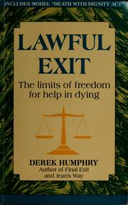 Cover of: Lawful exit