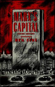 Cover of: Marx's capital