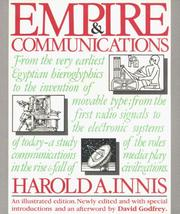 Cover of: Empire & communications | Harold Adams Innis