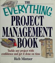 Cover of: The everything project management book