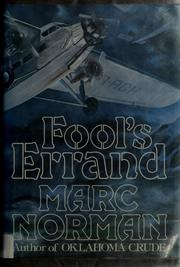 Cover of: Fool's errand