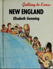 Cover of: Getting to know New England