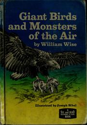 Cover of: Giant birds and monsters of the air