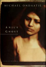 Cover of: Anil's ghost