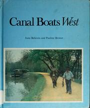 Cover of: Canal boats west