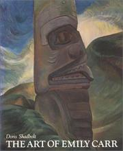 Cover of: The art of Emily Carr