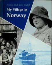 Cover of: My village in Norway