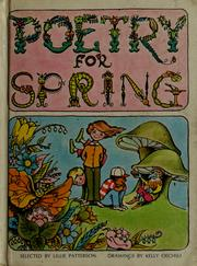 Cover of: Poetry for spring