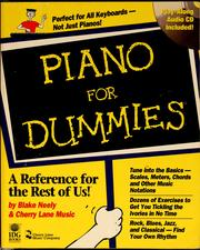 Cover of: Piano for dummies | Blake Neely