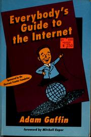 Everybodys guide to the internet