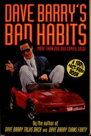 Cover of: Dave Barry's bad habits