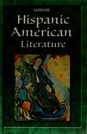 Cover of: Hispanic American literature | Glencoe/McGraw-Hill