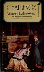Cover of: Challenge | Vita Sackville-West