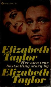 Cover of: Elizabeth Taylor