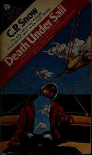 Cover of: Death under sail | C. P. Snow