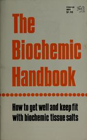 Cover of: The biochemic handbook by J. B. Chapman