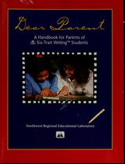 Cover of: Dear parent