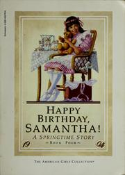 Cover of: Happy birthday, Samantha! | Valerie Tripp