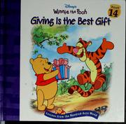Cover of: Giving is the best gift