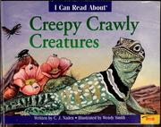 Cover of: I can read about creepy crawly creatures