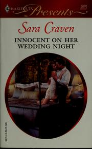 Cover of: Innocent on her wedding night by Sara Craven