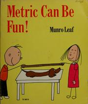 Cover of: Metric can be fun!