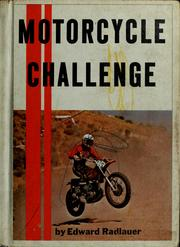 Cover of: Motorcycle challenge