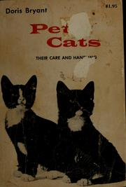 Cover of: Pet cats