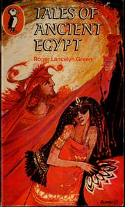 Cover of: Tales of ancient Egypt