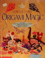 Cover of: Origami magic | Florence Temko