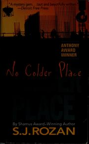 Cover of: No colder place