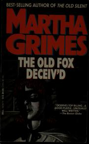 Cover of: The old fox deceiv'd