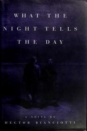 Cover of: What the night tells the day