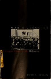 Cover of: War & genocide