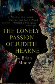 Cover of: The lonely passion of Judith Hearne