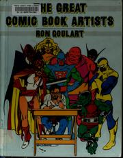 Cover of: The great comic book artists