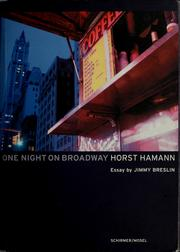 One night on Broadway by Horst Hamann