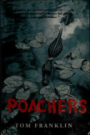 Cover of: Poachers | Tom Franklin