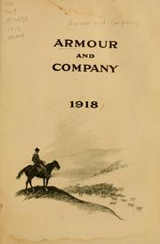 Cover of: Armour and Company, 1918