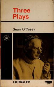 Cover of: Three plays